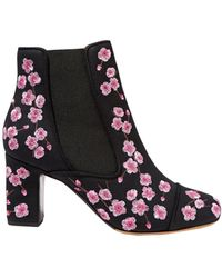 Tabitha Simmons Ankle Boots - Black