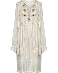 Manoush Knee-length Dress - White