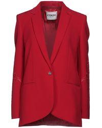 Iceberg Suit Jacket - Red