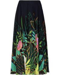 Valentino Long Skirt - Blue