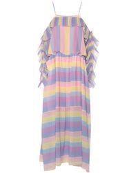 Blugirl Blumarine Long Dress - Pink