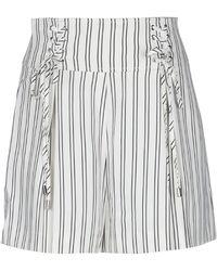 Guess Shorts & Bermuda Shorts - White