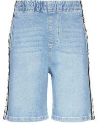 Kappa Denim Shorts - Blue