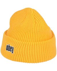 Obey Hat - Yellow