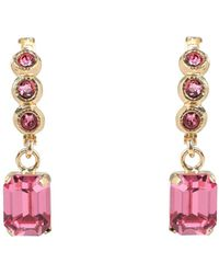 8 by YOOX Earrings - Pink