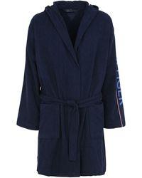 Tommy Hilfiger Dressing Gown Or Bathrobe - Blue