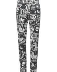 DIESEL Pantaloni jeans - Bianco