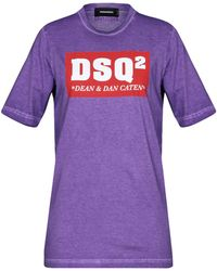 DSquared² T-shirts - Lila