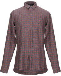 Aglini Shirt - Brown
