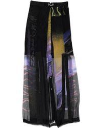 DIESEL Jupe longue - Noir