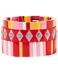 Roxanne Assoulin Armband - Rot