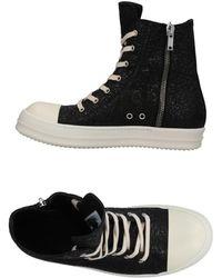 Rick Owens Sneakers & Tennis montantes - Noir