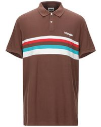 Wrangler Polo Shirt - Brown
