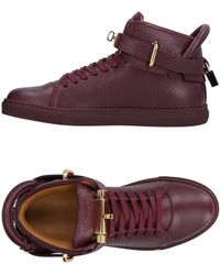 Buscemi High-tops & Trainers - Purple