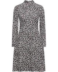 Closet Short Dress - Brown