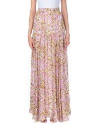 Giambattista Valli Long Skirt - Pink