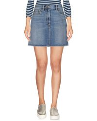 Marc By Marc Jacobs - Denim Skirt - Lyst