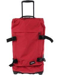 Eastpak Wheeled luggage - Red