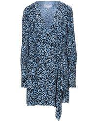 Les Rêveries Robe courte - Bleu