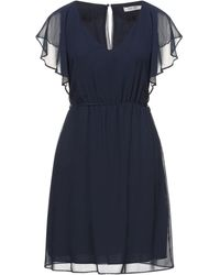 Naf Naf Midi Dress - Blue