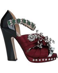 N°21 Sandals - Multicolour