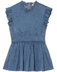 Brock Collection Bluse - Blau