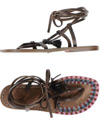 Exquisite J - Toe Post Sandal - Lyst