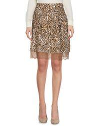 Lunatic - Knee Length Skirts - Lyst