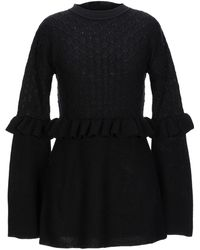 Mother Of Pearl Pullover - Nero