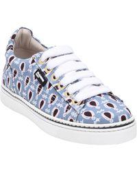 Jil Sander Navy Low-tops & Sneakers - Blue