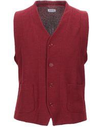 DISTRETTO 12 Waistcoat - Red