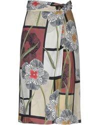 Maliparmi 3/4 Length Skirt - Green
