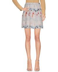 Jeremy Scott Mini Skirt - White