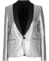 Celine Suit Jacket - Metallic