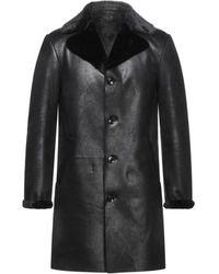 Daniele Alessandrini Coat - Black