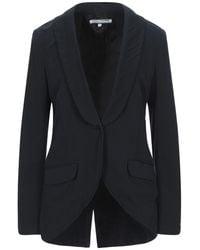 European Culture Suit Jacket - Blue