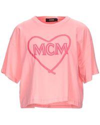 MCM T-shirt - Rosa