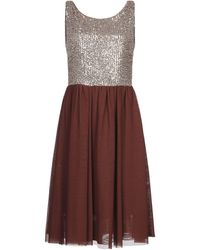 ViCOLO Knee-length Dress - Brown
