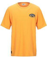 WTAPS T-shirt - Arancione