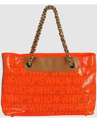 Who*s Who - Large Leather Bags - Lyst