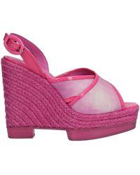 Santoni Sandals - Purple