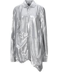 Rick Owens Shirt - Metallic