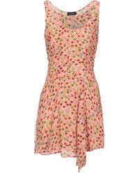 Atlein Short Dress - Pink
