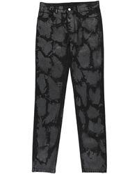 Marc Jacobs Denim Trousers - Black