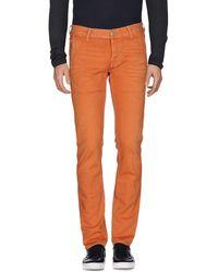 Care Label Denim Trousers - Multicolour
