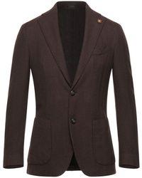 Lardini Suit Jacket - Brown