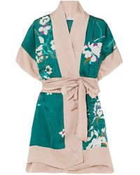 Carine Gilson Dressing Gown - Green