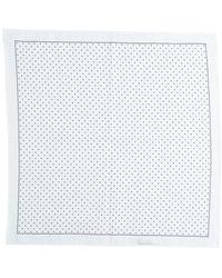Brunello Cucinelli Square Scarf - White