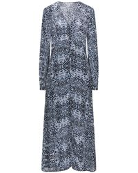 Lily and Lionel Long Dress - Blue