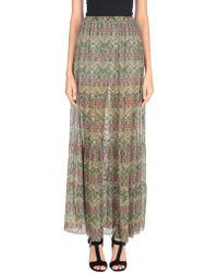 Fisico Long Skirt - Green